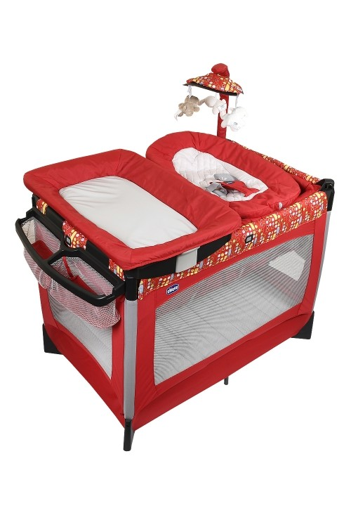 Patut pliant Chicco Lullaby Baby, Race, 0 luni+