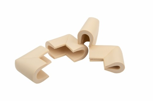 Set 4 coltare in forma U, 3.5x0.7x6 cm