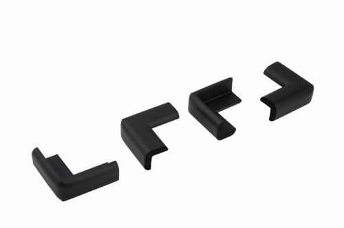 Set 4 bucati subtiri protectii colturi mobilier, 2.3x0.9x5 cm